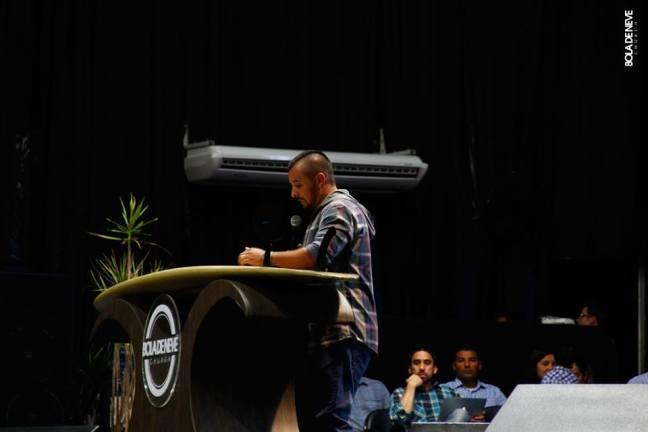 O Pastor da Igreja na Colômbia que ministrou nessa semana
