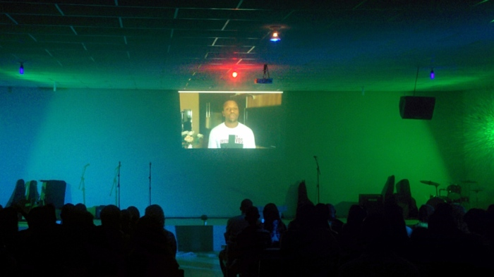 Na 1ª Rede convidei os Pastores de Jovens e Adolescentes da Sede para gravarem um vídeo abençoando nossa sonho